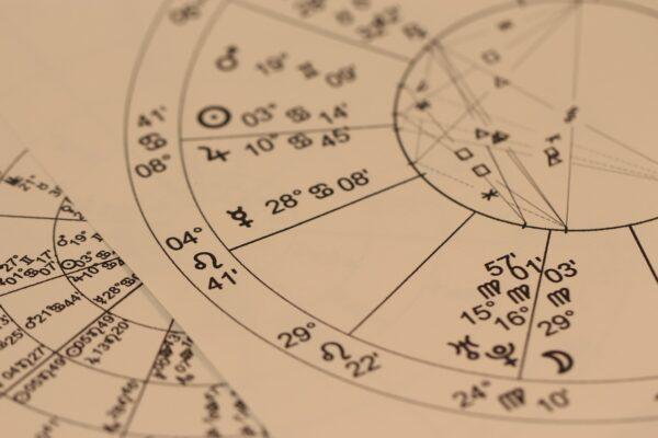 astrology, divination, chart