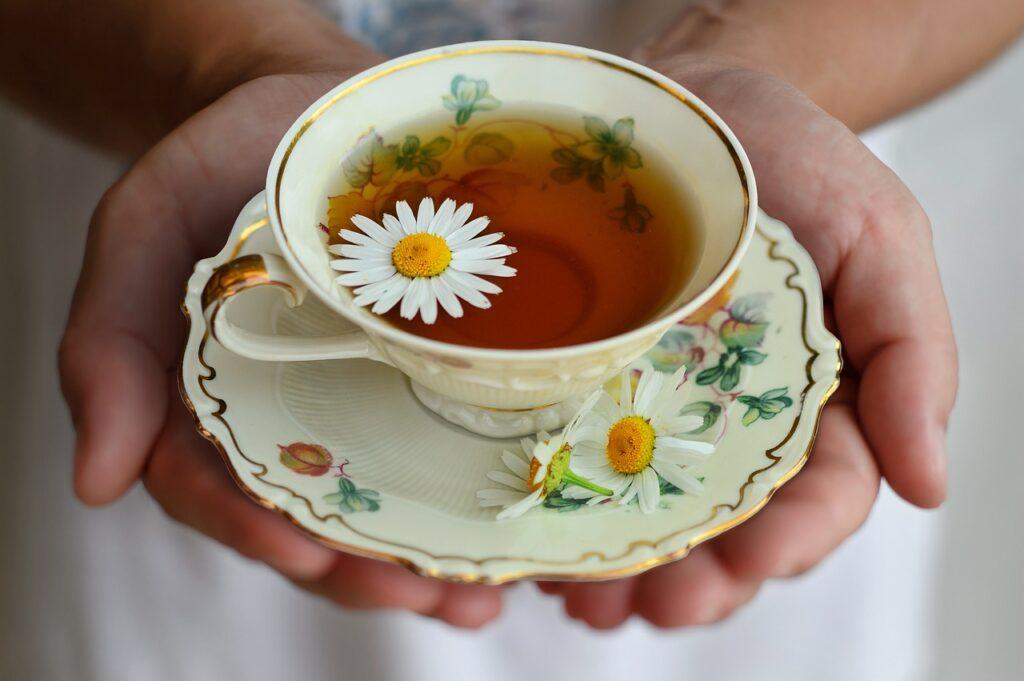 cup, tea, porcelain
